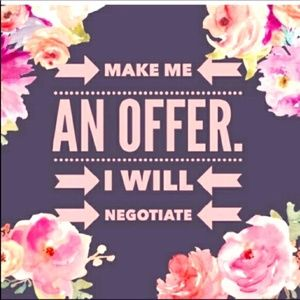 Other - Happy to Negotiate Prices! ♥